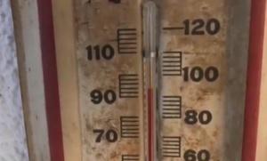 Температурни рекорди бяха регистрирани в Съединените щати. Необичайното горещото време