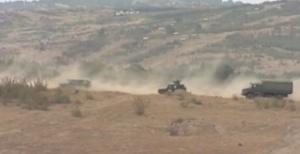 Военни от НАТО изграждат логистичен център за поддръжка на конвои
