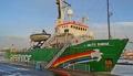 """Корабът на """"Грийнпийс"""" пристига в български териториални води"""