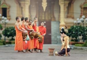 Спектакъл, посветен на един вековен будистки ритуал на Виетнам, представен