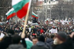 Снимка: Протест в името на свободата на словото изкараха десетки на улицата