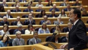 Премиерът на Испания Мариано Рахой призова Сената дазадейства член 155