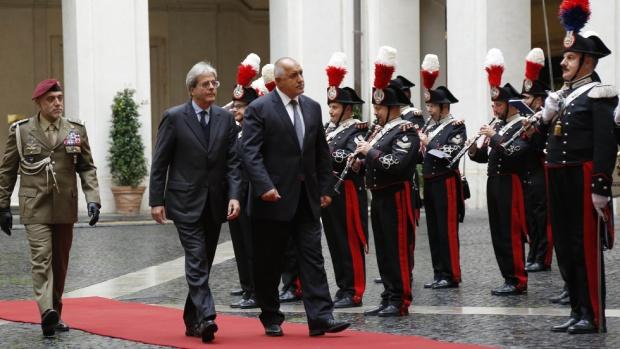 Борисов е на среща в Рим