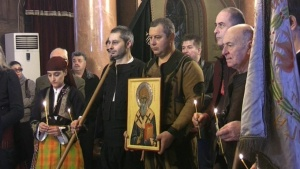 На 12 декември православната църква чества Свети Спиридон. Той бил