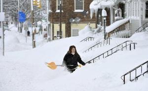 Жителите на градче в американския щат Пенсилвания останаха блокирани по