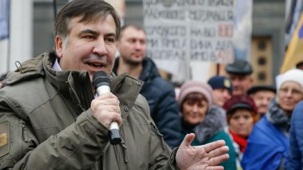 Украйна обвини Саакашвили в опит за сваляне на властта