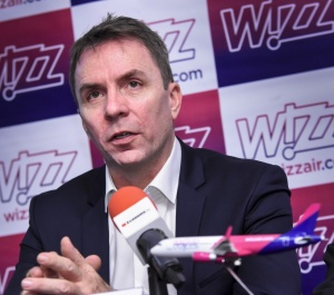 През 2017 г. Wizz Air е превозила над28 милиона пътниципо