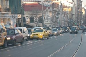 Въвеждат временна организация на движението в София. Причината е заснемането