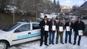 Петима мъже от Луково получиха специални грамоти за помощта им