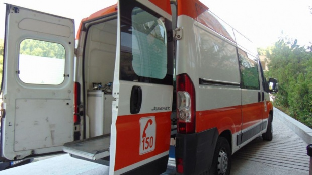 Линейка и автобус се сблъскаха до Омуртаг
