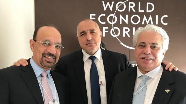 Борисов разговаря със саудитски министри в Давос