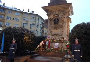 Възпоменанията по повод 145-ата годишнина отобесването на Васил Левскиблокират движението