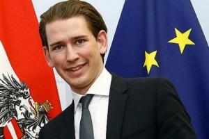 Федералният канцлер на Австрия Себастиан Курц пристига на посещение у