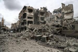 Над 500 цивилни жертви при бомбардировките в Източна Гута