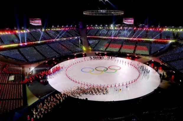 С пищна церемония откриха Олимпиадата в Пьонгчанг