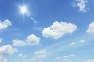 Днес, след временното намаление на облачността, около обяд от запад