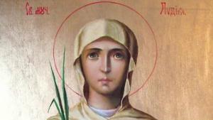 На23 мартправославната църква почита паметта наСвета мъченица Лидия.Света Лидияе първата