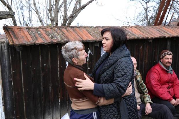 Корнелия Нинова: В Брегово сме, за да помогнем на хората.