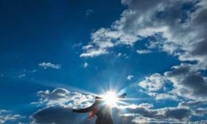 Днес ще преобладава слънчево време с временни увеличения на облачността,