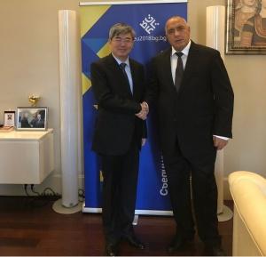 Борисов благодари на китайския посланик за акцията за Боян Петров