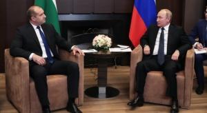 Президентът Румен Радев изигра ролята на вестоносец в Русия. Това