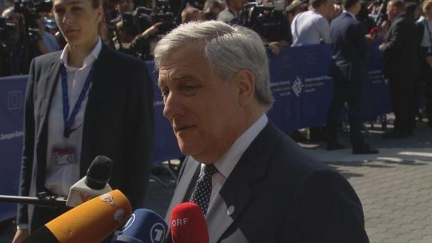 Антонио Таяни: Трябва да работим, за да защитим сигурността в Западните Балкани