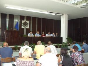 Ръководството на ОДМВР-Сливен участва в съвместна среща с Община Сливен