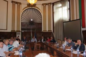 Министърът на земеделието, храните и горите Румен Порожанов проведе работни