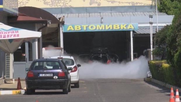 Изтичане на газ в бензиностанция в Хасково вдигна на крак пожарната