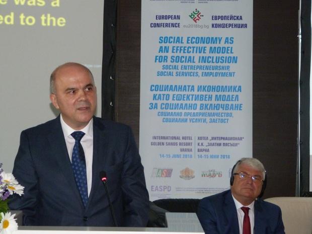 Бисер Петков: Със социално предприемачество и услуги се постига по-добра заетост