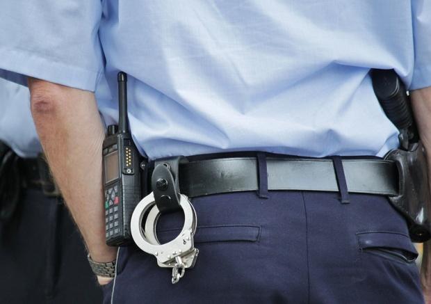 Полицейска акция в центъра на София