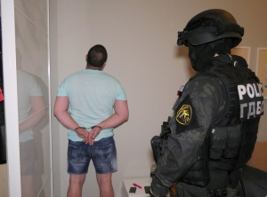 Задържаната на 3 юли група е била създадена с цел