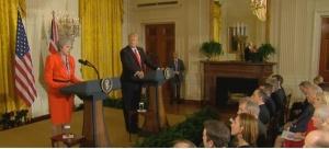 Президентът на САЩ Доналд Тръмп предложил на британския премиер Тереза