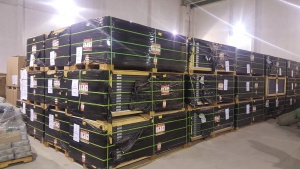 Митница Столична продава на търг 637 фотоволтаични панела и 1380