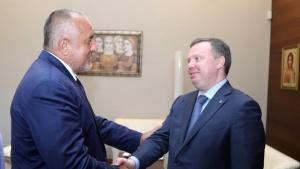Премиерът Бойко Борисов и първият заместник-генерален директор и директор на
