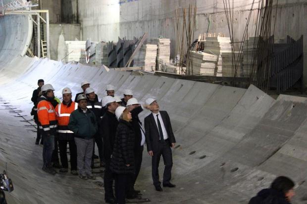 Строежът на метрото прави още задръствания в София