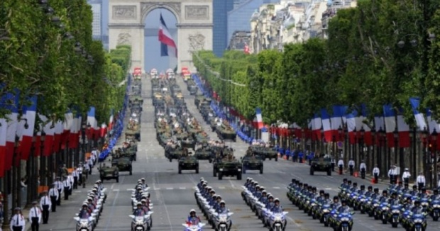 110 000 полицаи и жандармеристи ще пазят Франция през уикенда