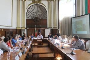 Министърът на земеделието, храните и горите Румен Порожанов се срещна
