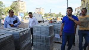 Заместник-кметът по транспорт Евгени Крусев провери изграждането на обособено трасе