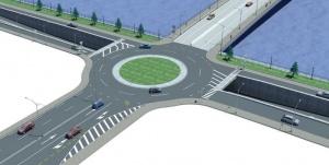 """Ново кръгово кръстовище регулира трафика в софийския квартал """"Драгалевци"""". То"""