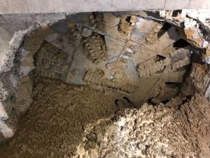 Днес, 15 август, тунелопробивната машина на третия лъч достигна до