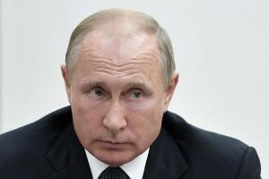 Руският президент Владимир Путин пристигна със самолет в австрийския град