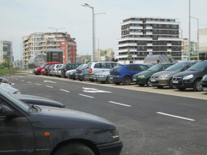 Три наземни паркинга ще бъдат изградени до края на септември