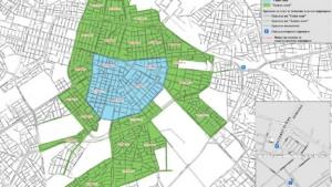 """Схемите с местата за разширяване на """"зелена зона"""" в """"Лозенец"""","""