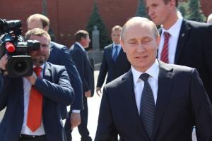 Руският президент Владимир Путин и германската канцлерка Ангела Меркел са