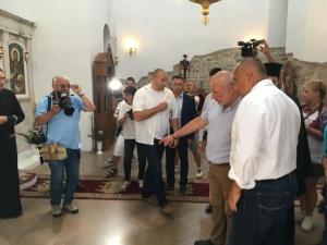 Министър-председателят Бойко Борисов инспектира ремонтните дейности по довършването на строителството