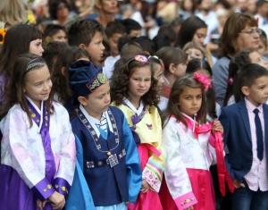 Вицепрезидентът Илияна Йотова откри първия учебен ден в столичното 18-то