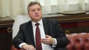 Македонският президент Георге Иванов няма да гласува на предстоящия референдум