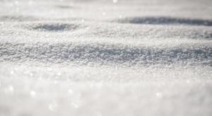След рязкото застудяване тази седмица, падна и първият сняг в