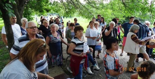 Протестиращи блокираха за кратко главния път Пловдив - Смолян